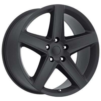 FACTORY REPRODUCTIONS WHEELS  JEEP SRT8 STYLE 63 SATIN BLACK RIM