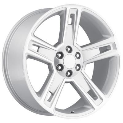FACTORY REPRODUCTIONS WHEELS  CHEVY 2015 SILVERADO 1500 STYLE 34 SILVER MACHINED FACE RIM