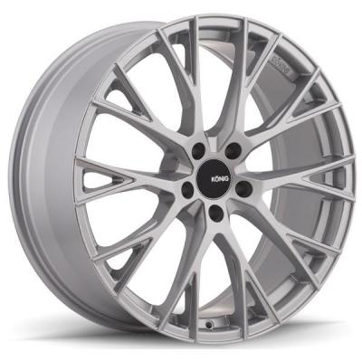 KONIG WHEELS   INTERFLOW METALLIC SILVER RIM