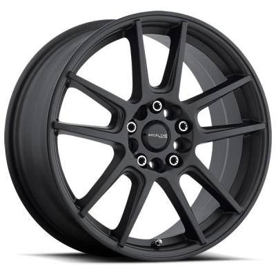 RACELINE WHEELS   142B REBEL SATIN BLACK RIM