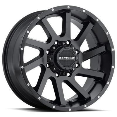 RACELINE WHEELS   932B TWIST SATIN BLACK RIM