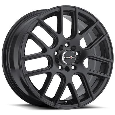 VISION WHEELS   CROSS 426 FWD MATTE BLACK RIM