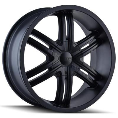 DIP WHEELS  HACK D98 FULL MATTE BLACK RIM