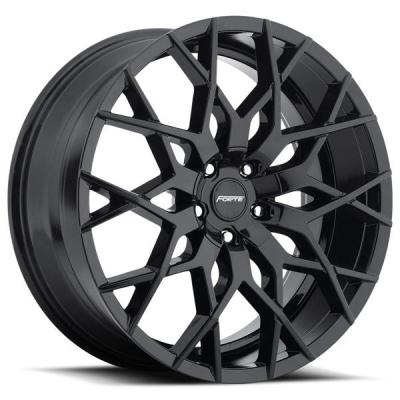 FORTE WHEELS   F71 MISTRESS GLOSS BLACK RIM