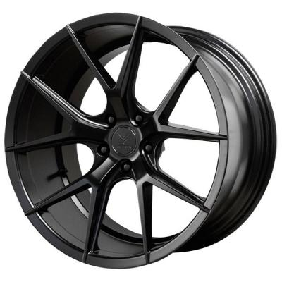 VERDE WHEELS  AXIS SATIN BLACK RIM