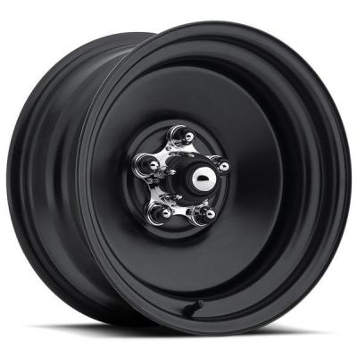 U.S. WHEEL  RAT ROD 68 SERIES BLACK RIM