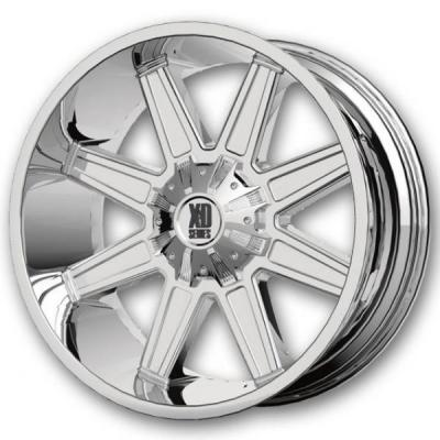 SPECIAL BUY WHEELS  XD SERIES XD823 TRAP PVD RIM DISPLAY SET 1 SET ONLY - SOLD AS IS