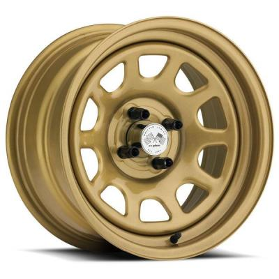 U.S. WHEEL  DAYTONA FWD 022G SERIES FULL GOLD RIM
