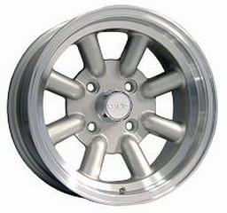 KONIG WHEELS  REWIND SILVER RIM with MACHINED LIP