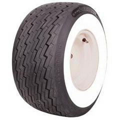COKER TIRES  COKER GOLFCART WHITEWALL TIRE 18x8.50
