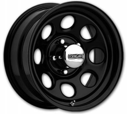 CRAGAR WHEELS  397 SOFT 8 BLACK WHEEL cap additional $14.95