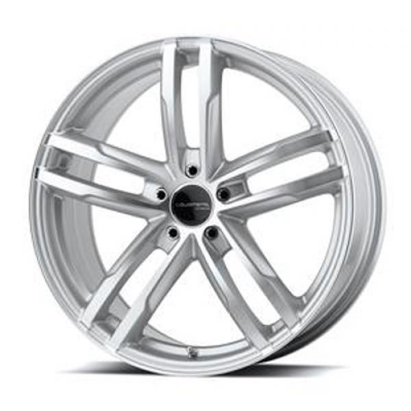 CURVE SILVER RIM with MACHINED FACE by LIQUID METAL WHEELS