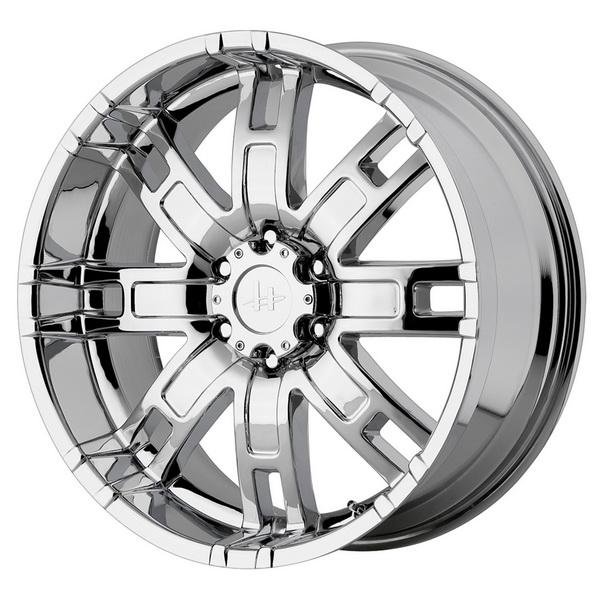 HE835 CHROME RIM by HELO WHEELS