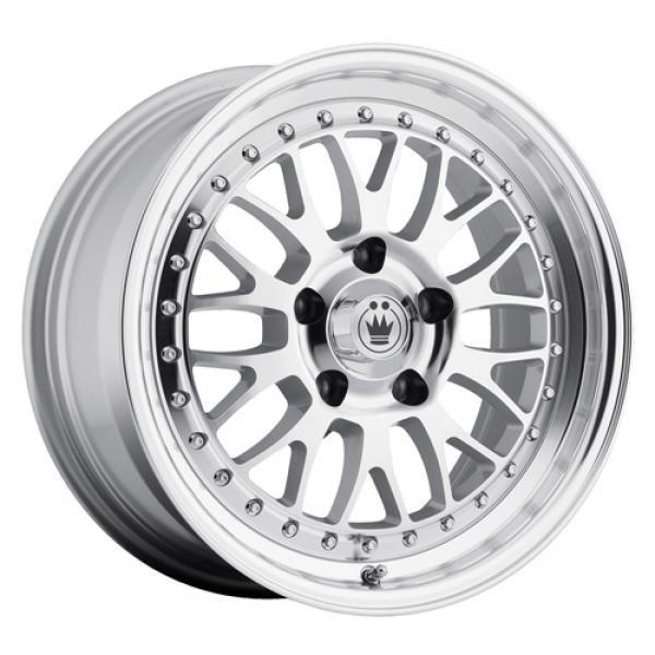 ROLLER SILVER RIM with MACHINED FACE by KONIG WHEELS