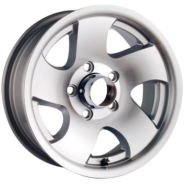STYLE 10 MACHINED TRAILER RIM by ION TRAILER WHEELS