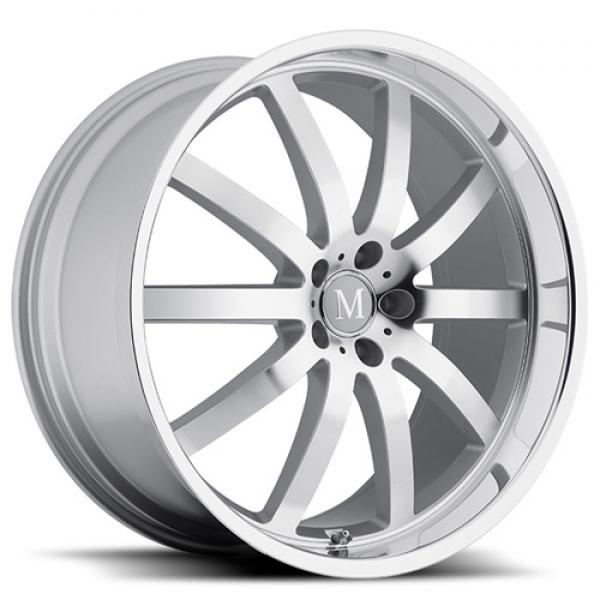 WILHELM SILVER RIM with MIRROR CUT FACE and LIP by MANDRUS WHEELS