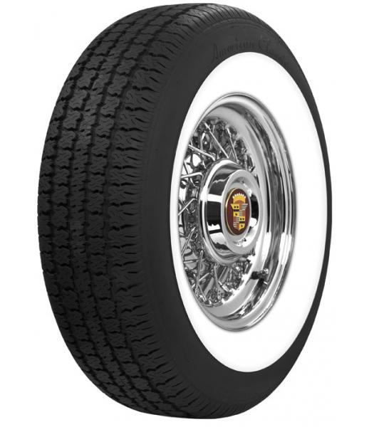 WIDE WHITEWALL RADIAL by AMERICAN  CLASSIC TIRE