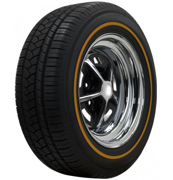 LOW PROFILE GOLDLINE RADIAL TIRE by AMERICAN  CLASSIC TIRE