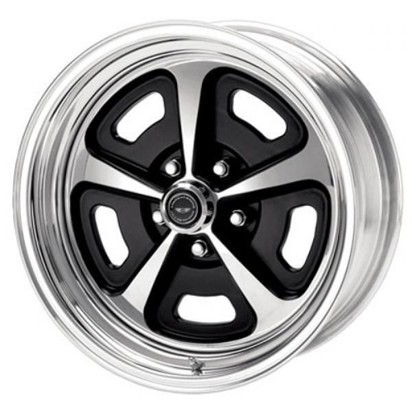 VN500 PAINTED CENTER WHEEL with POLISHED BARREL by AMERICAN RACING WHEELS