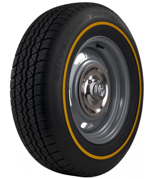 SILVERTOWN RADIAL 6 WHITEWALL TIRE by BF GOODRICH VINTAGE