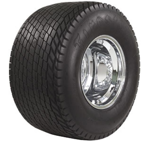 DIRT TRACK DOUBLE DIAMOND GROOVED REAR BIAS PLY TIRE by FIRESTONE VINTAGE TIRES
