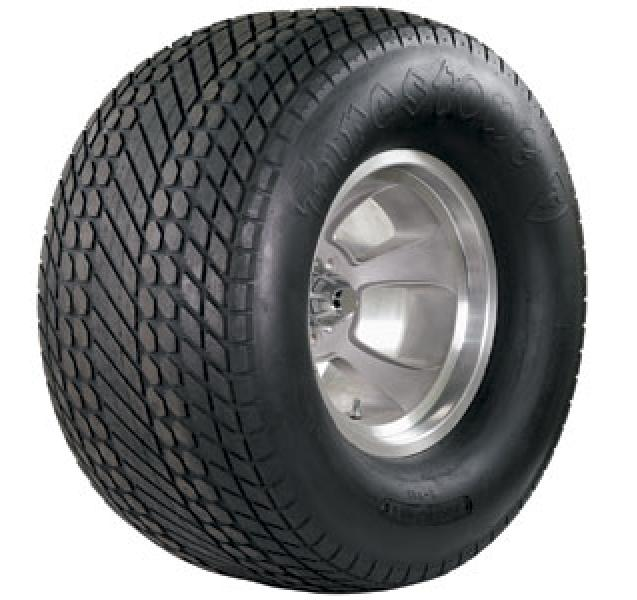 DIRT TRACK DOUBLE DIAMOND GROOVED REAR 13/30-15 BIAS PLY TIRE by FIRESTONE VINTAGE TIRES