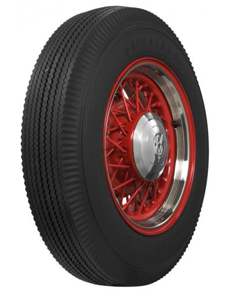 VINTAGE BIAS PLY 24 WHITEWALL TIRE by FIRESTONE VINTAGE TIRES