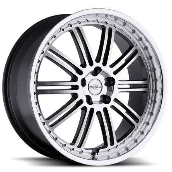 MARQUES GUNMETAL RIM with MIRROR CUT FACE and LIP by REDBOURNE WHEELS