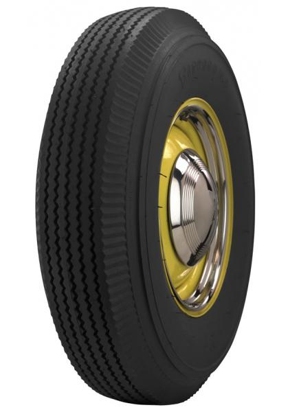 VINTAGE BIAS PLY 32 WHITEWALL TIRE by FIRESTONE VINTAGE TIRES
