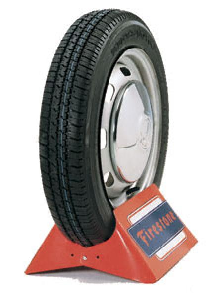 VINTAGE RADIAL F560 WHITEWALL TIRE by FIRESTONE VINTAGE TIRES