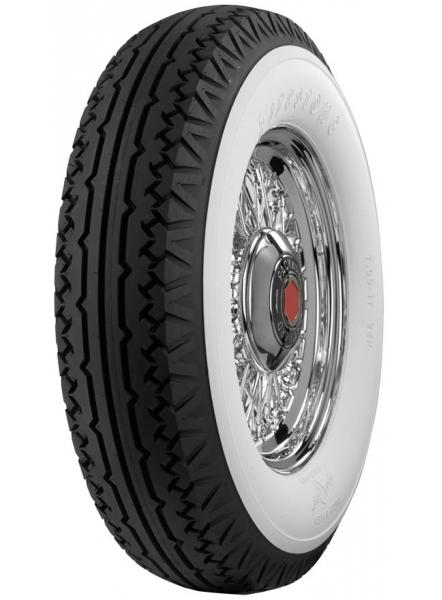 VINTAGE BIAS PLY 27 WHITEWALL TIRE by FIRESTONE VINTAGE TIRES