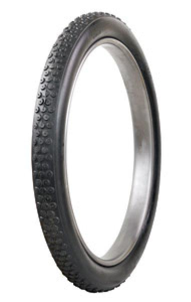 BUTTON TREAD BLACK TIRE by COKER MOTORCYCLE TIRE