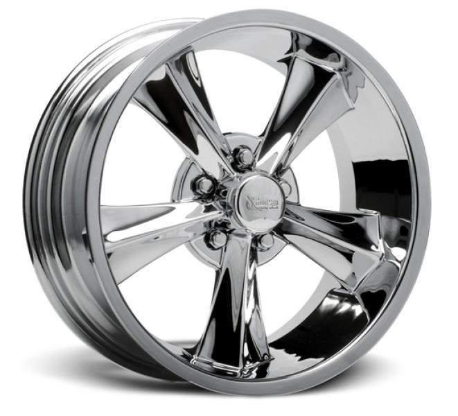 BOOSTER CHROME RIM by ROCKET RACING WHEELS