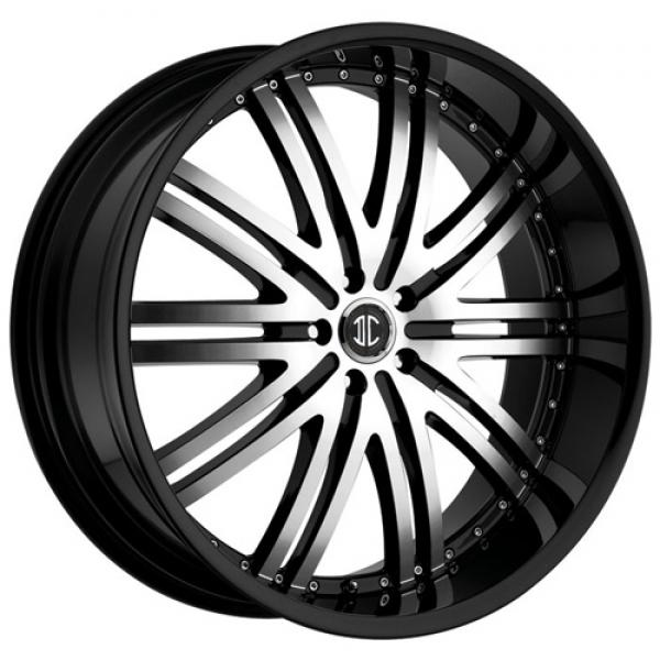 2 CRAVE N11 BLACK/MACHINED RIM by 2 CRAVE WHEELS