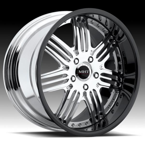 BREMAN CHROME RIM with BLACK LIP by MHT FORGED EDITION