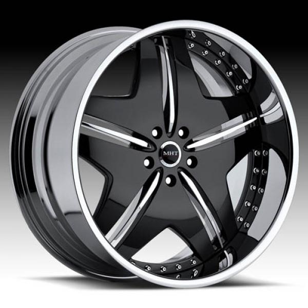 EXCESS BLACK CHROME RIM by MHT FORGED EDITION