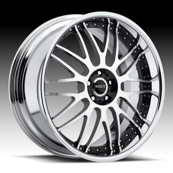 MERLOT DIAMOND BLACK RIM by MHT FORGED EDITION