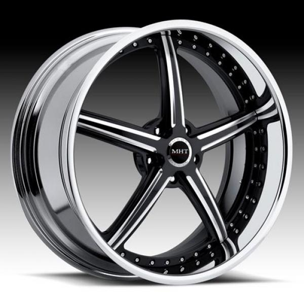 STILETTO 5 SPOKE BLACK RIM by MHT FORGED EDITION
