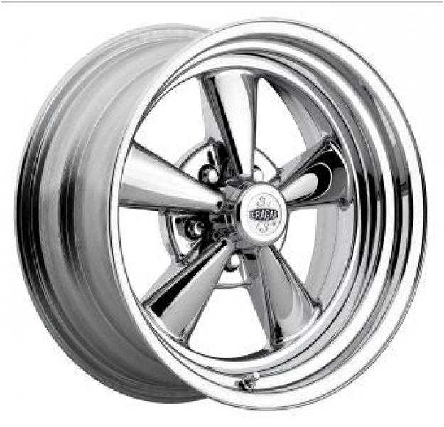 61C S/S SUPER SPORT CHROME WHEEL by CRAGAR WHEELS