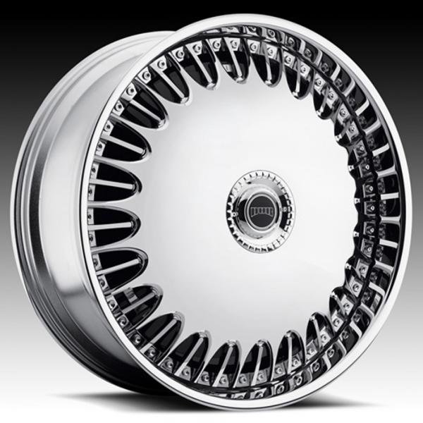 BILLIONAIRE S762 CHROME RIM by DUB SPINNERS