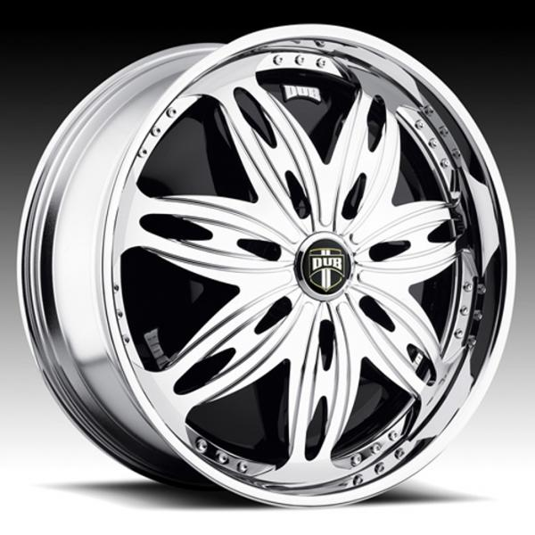 RAVENOUS S755 CHROME RIM by DUB SPINNERS