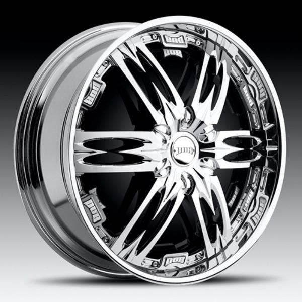 NASTY S772 CHROME RIM by DUB SPINNERS