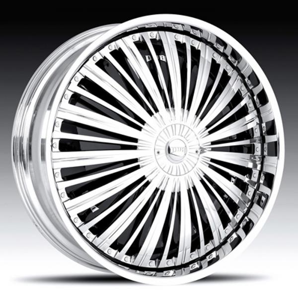 SHOWTIME S794 CHROME RIM by DUB SPINNERS