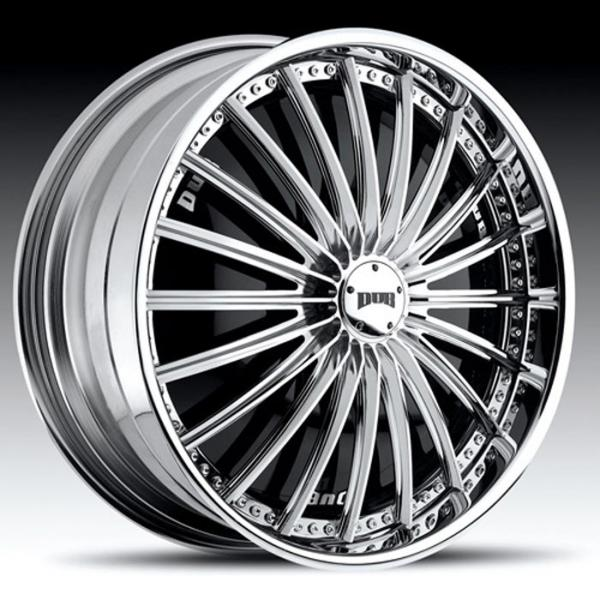 ROULETTE S770 CHROME RIM by DUB SPINNERS