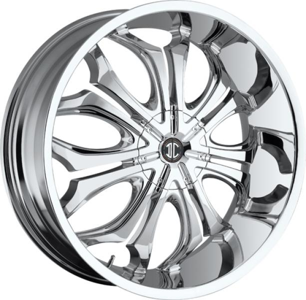 2 CRAVE N08 CHROME RIM by 2 CRAVE WHEELS