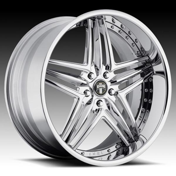 TYPE 49 CHROME RIM by DUB FORGED