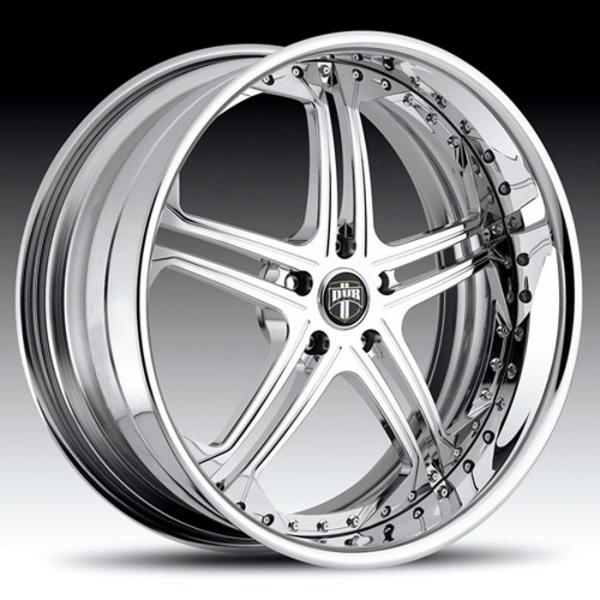 TYPE 10 CHROME RIM by DUB FORGED