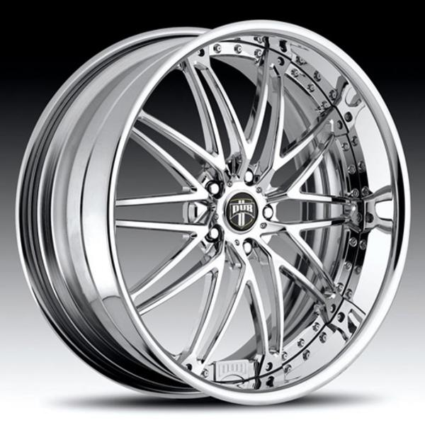 TYPE 13 CHROME RIM  by DUB FORGED