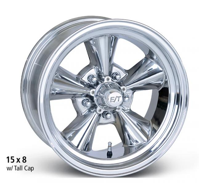 CLASSIC FIVE POLISHED WHEEL by ET WHEELS