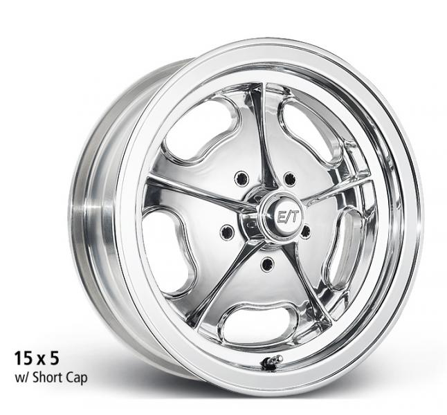DRAGMASTER POLISHED WHEEL by ET WHEELS